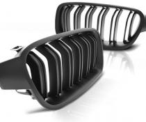 .Решетка радиатора , ноздри на БМВ F30/F31 стиль М3 (черный мат)
