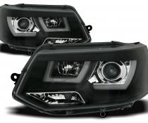 .Оптика передняя, фары на VW T5 черные