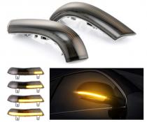 .Динамические светодиодные указатели поворота Volkswagen, дымчастые