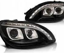 .Оптика передняя, фары на Mercedes W220 в стиле W222