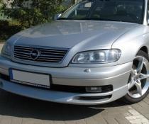 .Накладка переднего бампера на Opel Omega B рестайл