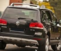 .Накладка заднего бампера для Volkswagen Touareg