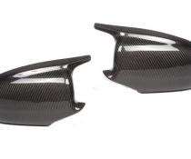 .Карбоновые накладки на зеркала BMW 5 серии F10, дорестайл