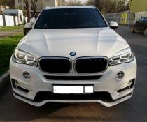 .Накладка переднего бампера BMW X5 F15 стиль Аэро