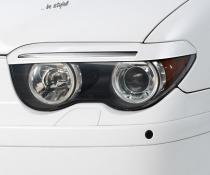 .Реснички, накладки фар BMW E65