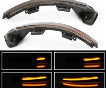 Динамические светодиодные указатели поворота VW Passat B8 дымчастые