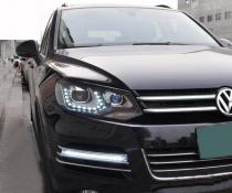 .Оптика передняя, фары Volkswagen Touareg 2