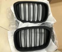 .Решетка радиатора BMW X3 G01 / X4 G02 черная матовая