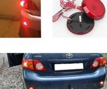 Задние габаритные огни на Toyota/Nissan, красные