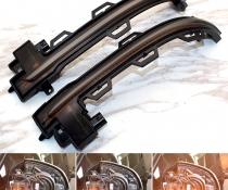Динамические повторители поворотов BMW X3/X4/X5/X6 дымчатые