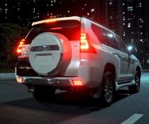 Задние габариты LED на Toyota LC 150 Prado (2009-2020)