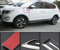 Тюнинговые накладки на кузов автомобиля (эмитация воздухозаборников)