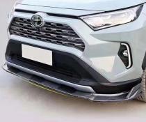 .Накладка переднего бампера Toyota RAV4 (2019-...)