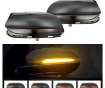 .Динамические светодиодные указатели поворота VW Golf MK6 / Touran дымчастые
