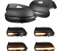 .Динамические светодиодные указатели поворота VW Passat B7, дымчастые