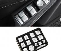 Хромированные накладки кнопок стеклоподъемника Mercedes