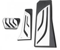 Накладки на педали BMW 5 (F10/F11), X3 (F25), X4 (F26)