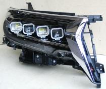 Оптика передняя, фары Lexus-design 4-LED Toyota LC 150 Prado (2017-...)