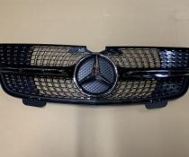 Решетка радиатора Mercedes GL klass X164 стиль Diamond