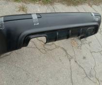 Акция! Диффузор (юбка) задний для BMW E39 M5 с ребрами