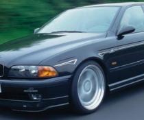 .Накладка передняя BMW E39 as schnitzer!!