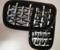 .Решетка радиатора на BMW E70/E71 стиль Diamond
