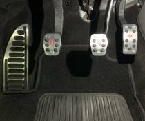 Накладки на педали Ford Focus 2, Focus 3 (4 штуки)