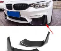 Накладки переднего бампера BMW F80 M3 / F82 M4 / F83 M4, карбон