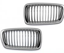 .Решетка радиатора BMW E38, хром
