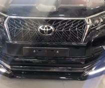 Накладки на передний и задний бампер Modelista V3-LED на Toyota LC 150 Prado (2017-...)