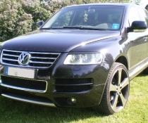 .Реснички VW Touareg дорестайл
