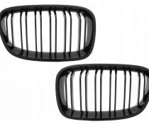 .Решетка радиатора (ноздри) BMW F20 / F21 M-LOOK черная глянцевая