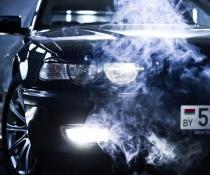 Реснички, накладки фар BMW E38
