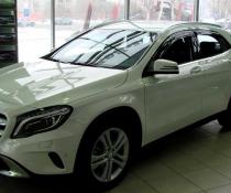 Дефлекторы окон ветровики на Mercedes GLA X156