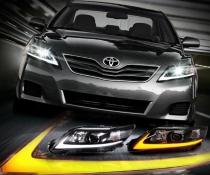 . Оптика передняя, фары Toyota Camry 45