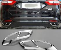 Накладки на глушитель для Ford Fusion / Mondeo