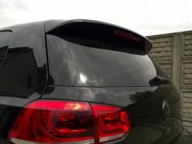 Cпойлер крышки багажника Volkswagen Golf 6 стиль GTI,VW-GO-6-GTI-D1